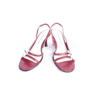 Worthington Red Slingback Heels Size 5.5